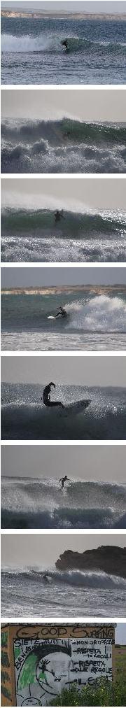 Surfen auf Sardinien